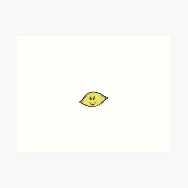 Dope Lemon Lemon Art Print