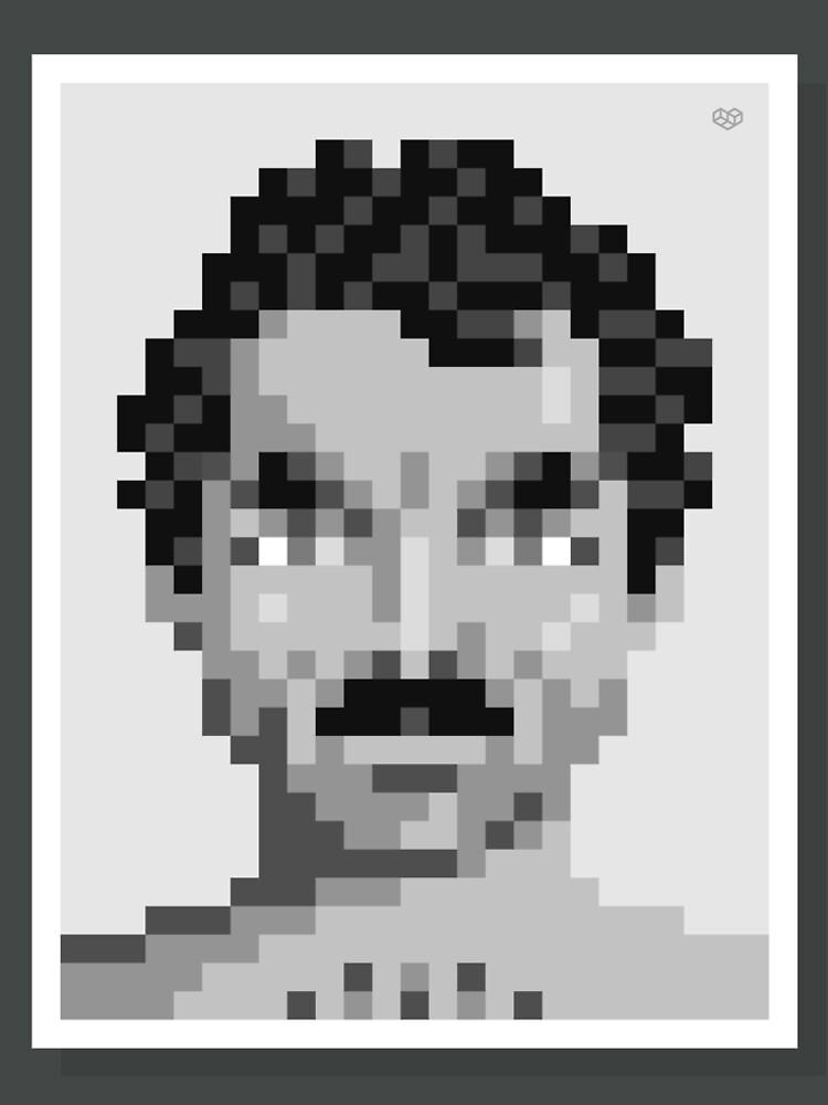 His mustache — Mono by vips