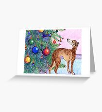 Baubles and bone Greeting Card