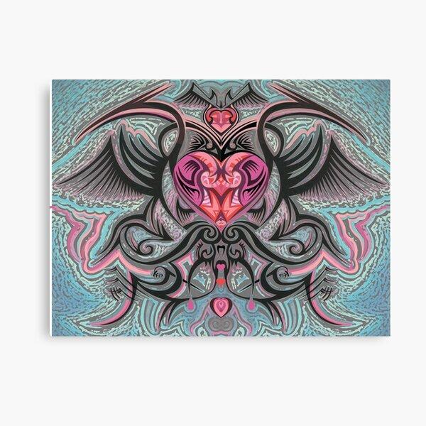 A Tattooed Kind of Love Canvas Print