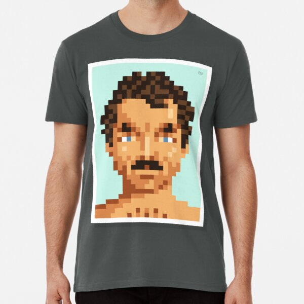 His mustache Premium T-Shirt