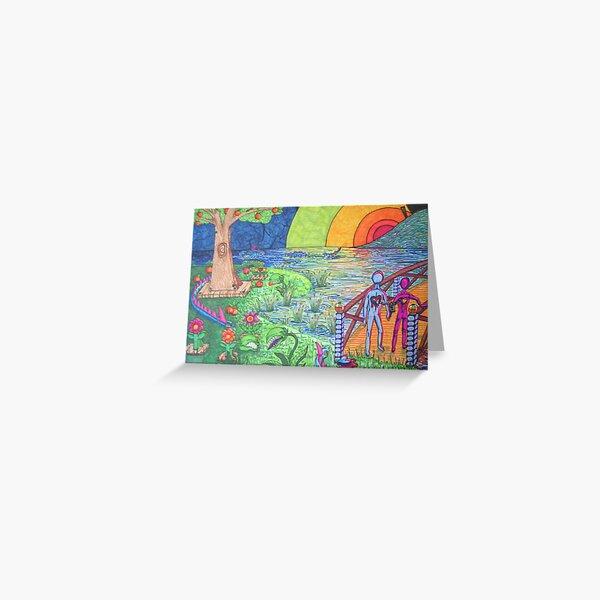 Eden on Acid Greeting Card