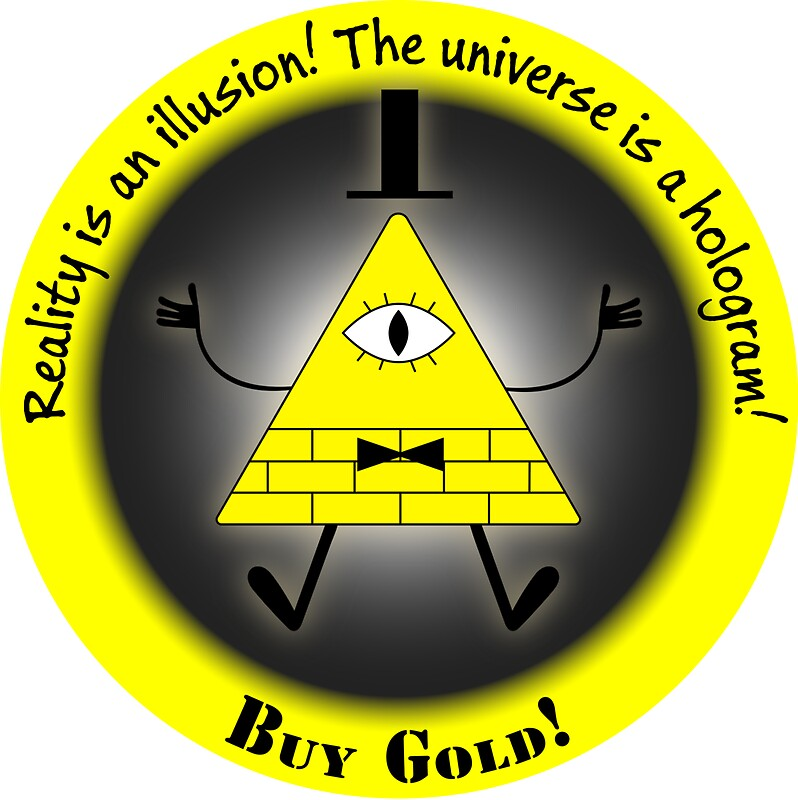 Quot Reality Is An Illusion Quot Stickers By Marc Bublitz Redbubble