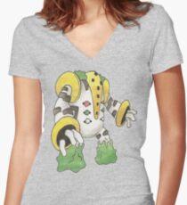 Regigigas by Derek Wheatley Women's Fitted V-Neck T-Shirt