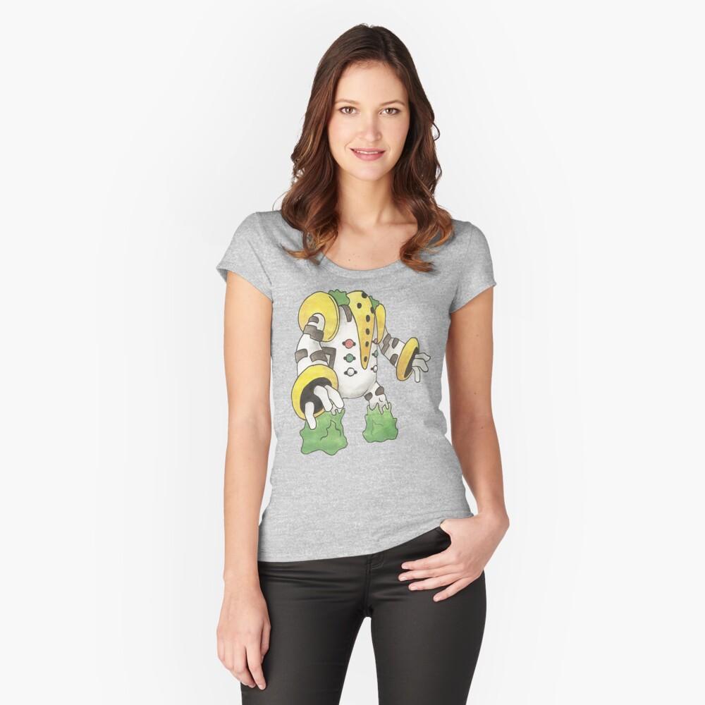 Regigigas by Derek Wheatley Women's Fitted Scoop T-Shirt Front