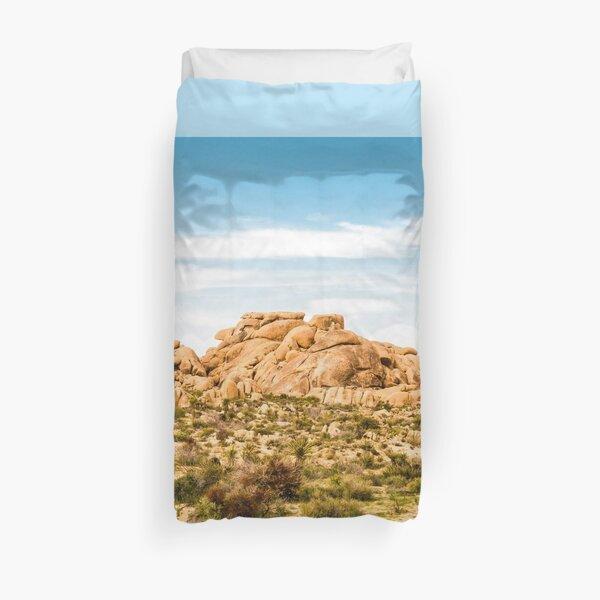 Big Rock Joshua Tree 7404 Duvet Cover