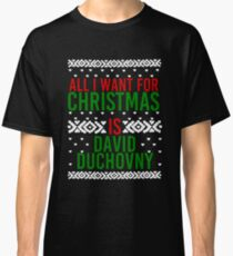 All I Want For Christmas (David Duchovny) Classic T-Shirt
