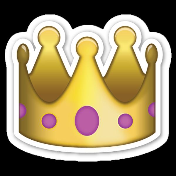 crown emoji sticker phone case stickers par youtubemugs redbubble. Black Bedroom Furniture Sets. Home Design Ideas