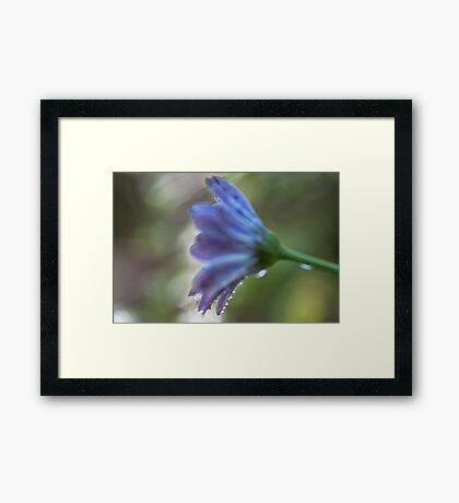 Purple painting Framed Print