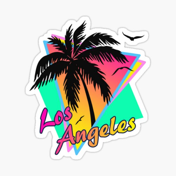 los Angeles Pegatina