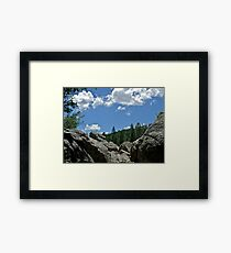 Prescott Arizona Sky Framed Print
