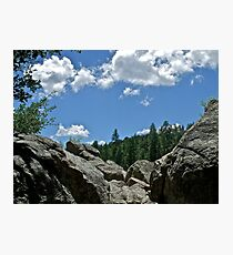 Prescott Arizona Sky Photographic Print