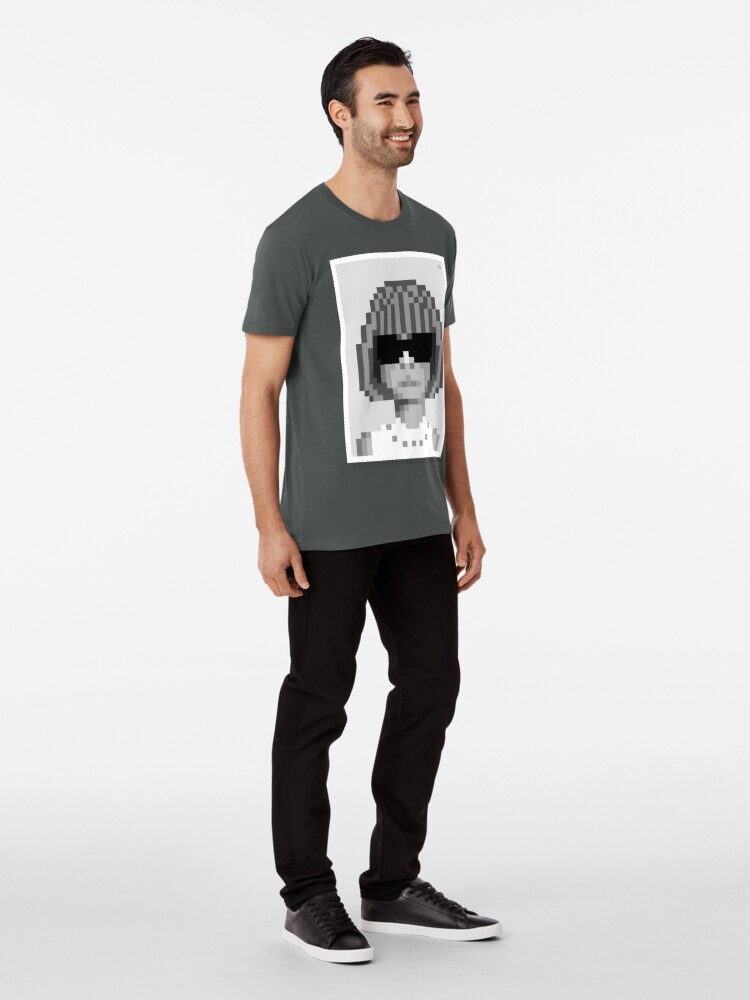 Alternate view of Her bob — Mono Premium T-Shirt