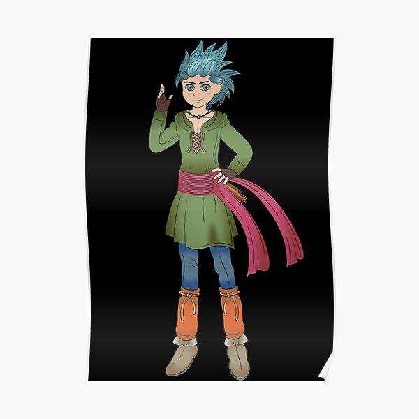 Erik Dragon Quest 11 Poster