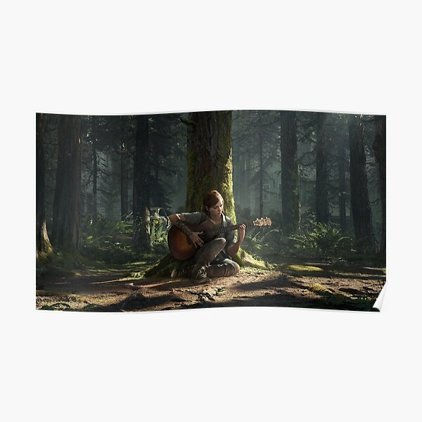 The Last Of Us Part II - Light Theme Poster