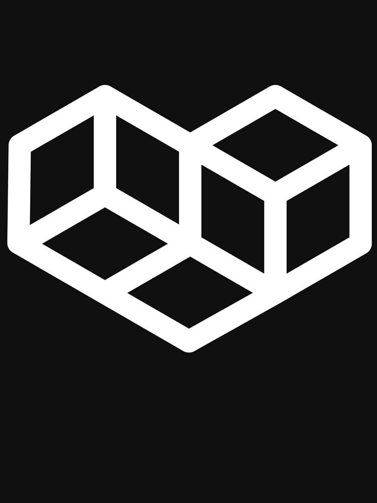 Original VIP logo on black by vips