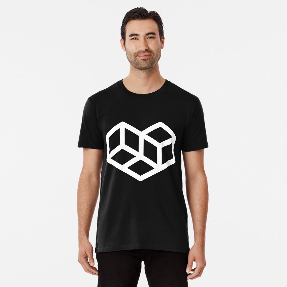 Original VIP logo on black Premium T-Shirt