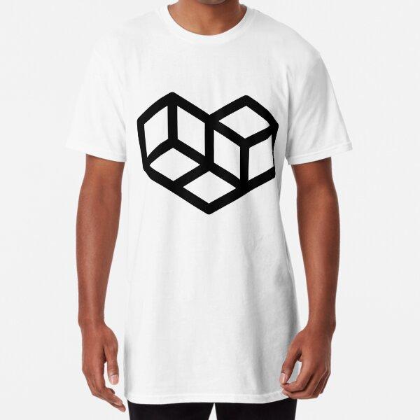 Original VIP logo on white Long T-Shirt