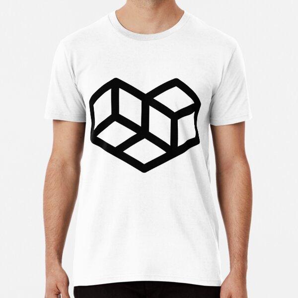 Original VIP logo on white Premium T-Shirt
