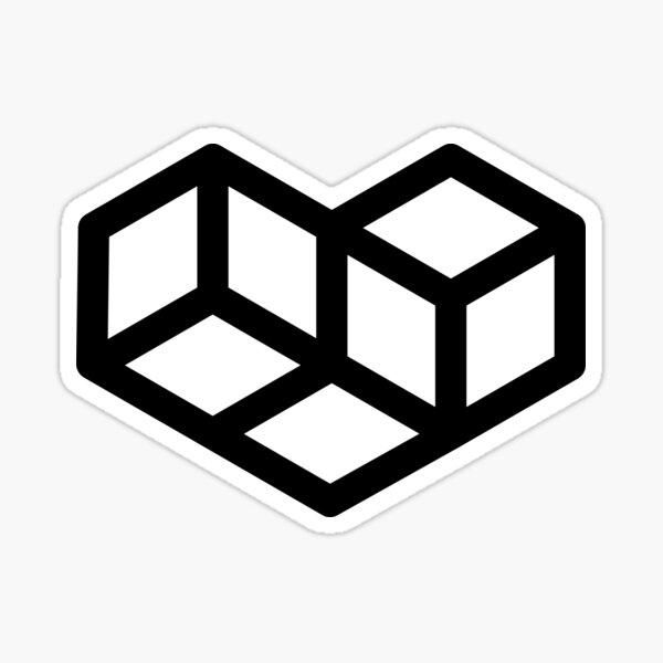 Original VIP logo on white Sticker