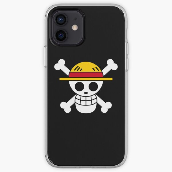 One piece-Straw-hat Logo Coque souple iPhone