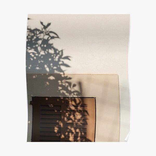 Minimal Neutral Window Poster