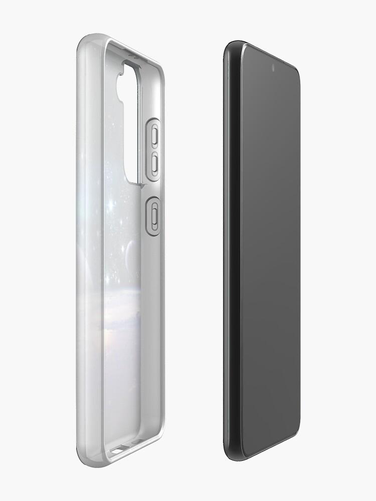 Alternate view of Solar System Samsung Galaxy Phone Case
