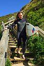 Jan Juc Surfer by Darren Stones