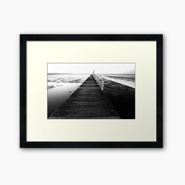 Never Ending - Long Jetty Framed Art Print