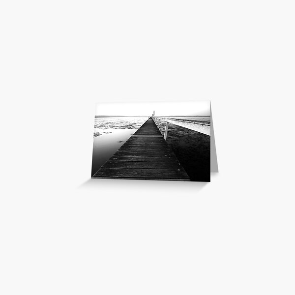 Never Ending - Long Jetty Greeting Card