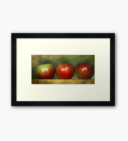 How Do You Like Them Apples Framed Print
