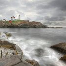 The Nubble in HDR by Lori Deiter