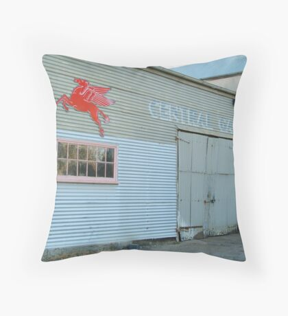 Clunes Garage Throw Pillow