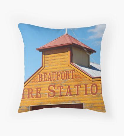 Beaufort Fire Station Throw Pillow