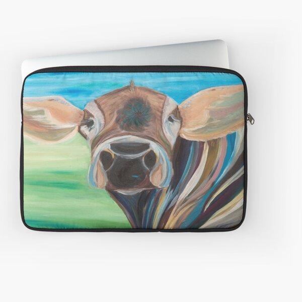 Cow Eyes Laptop Sleeve