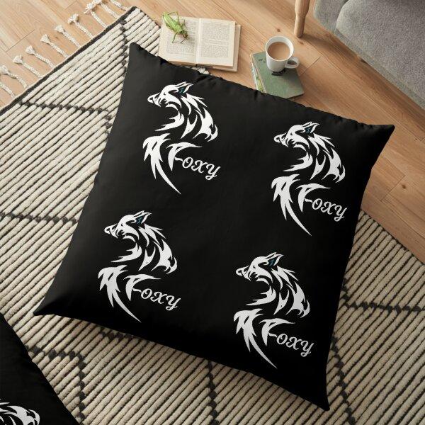 Foxy White Fox looking Foxy Floor Pillow