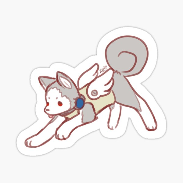 Koromaru Sticker
