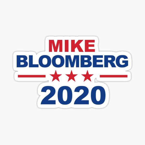 """Mike Bloomberg for President 2020 Official Sticker 3"""" bumper skateboard laptop"""