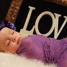 Newborn February by Sharon Robertson