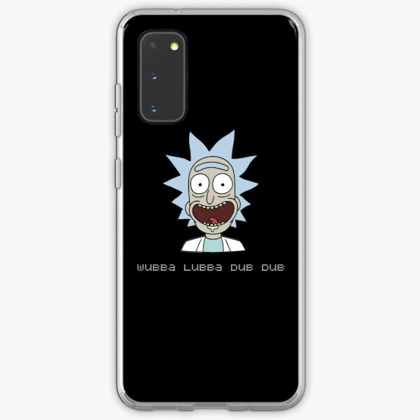 Wubba Lubba Dub Dub Rick Sanchez ; Rick and Morty. Samsung Galaxy Soft Case