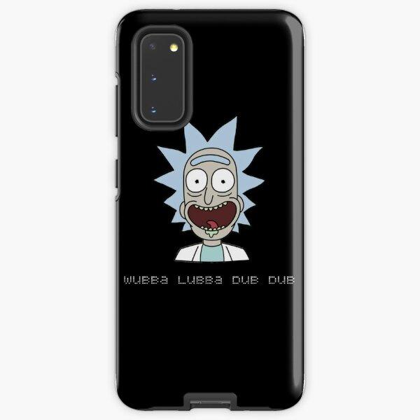 Wubba Lubba Dub Dub Rick Sanchez ; Rick and Morty. Samsung Galaxy Tough Case