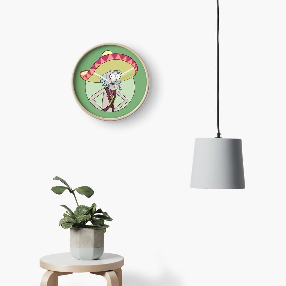 Mexican Rick Sanchez - Rick and Morty Clock