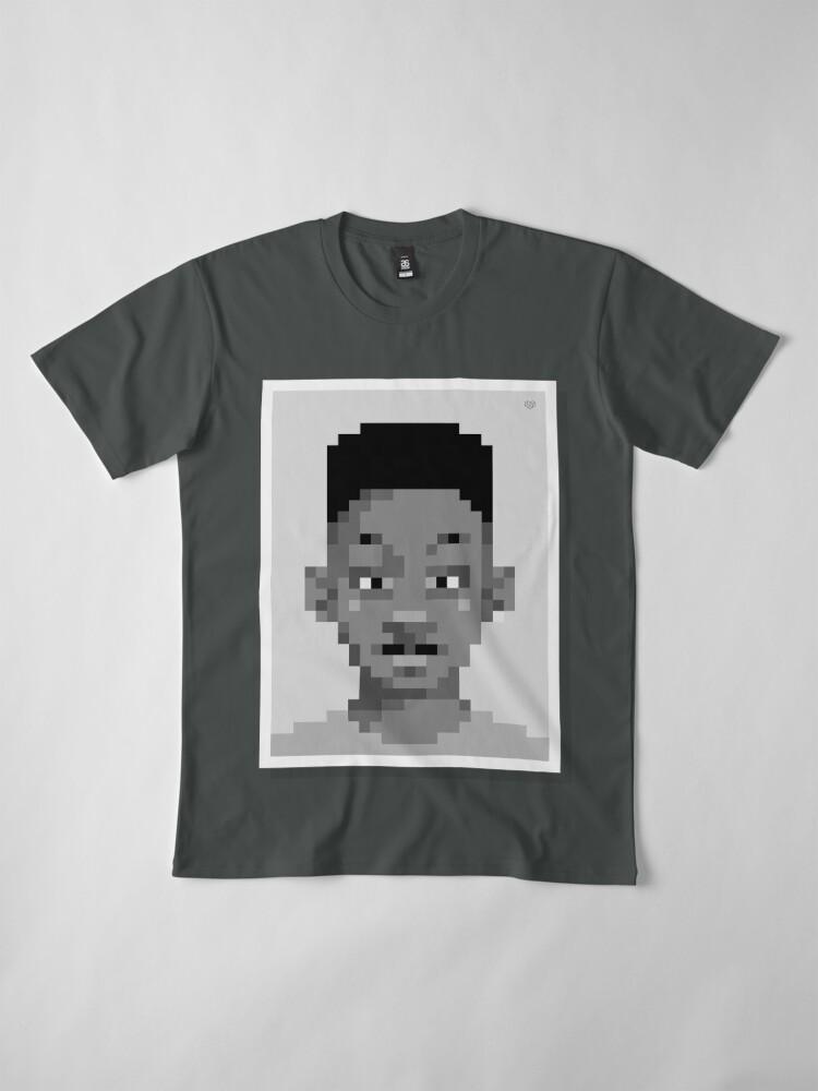 Alternate view of His fresh —Mono Premium T-Shirt