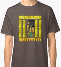 JoJo's Bizarre Adventure Stardust Crusaders Heritage for the Future (PS1) - DIO WRYYY Pose Classic T-Shirt