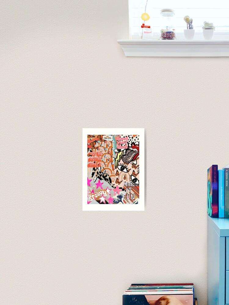 Vsco Collage Background Wallpaper Art Print By Madilynrrr