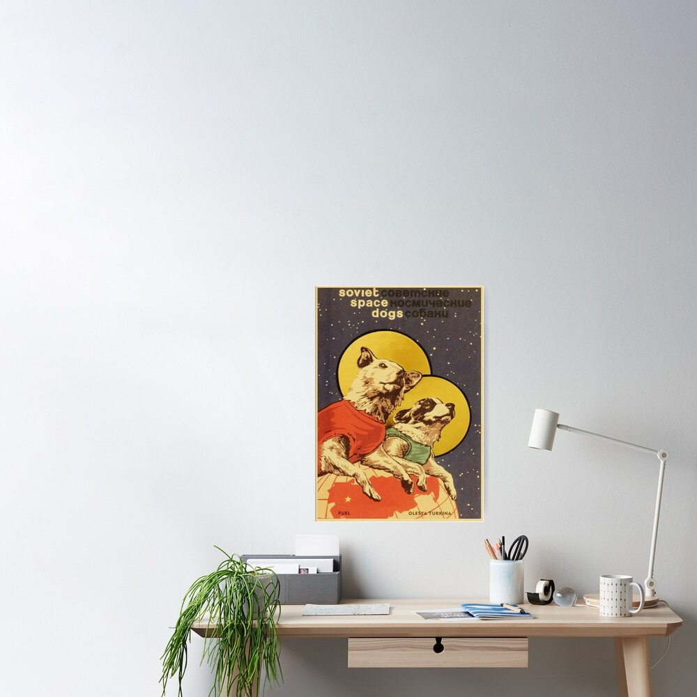 Soviet Space Dogs Poster
