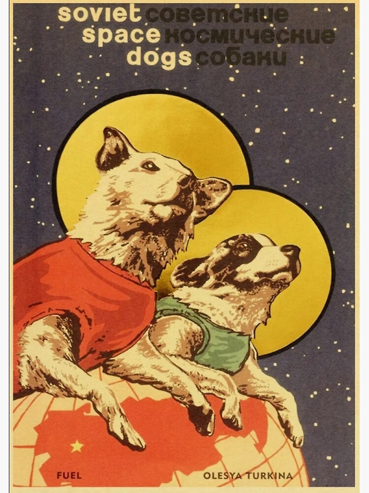 Soviet Space Dogs by fitplus