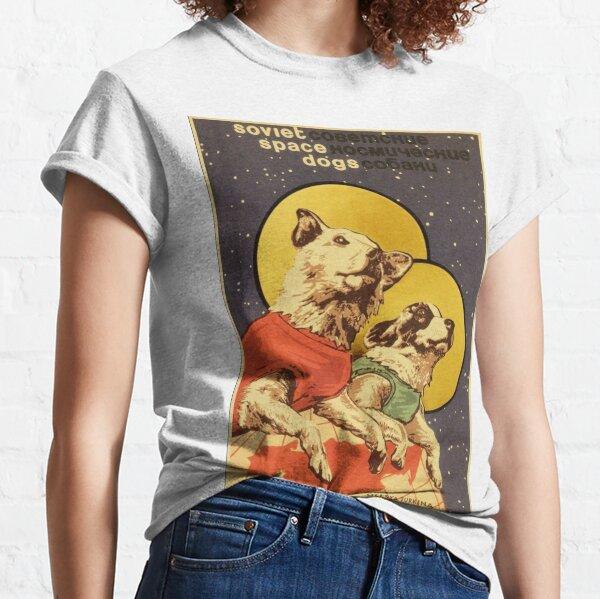 Perros espaciales soviéticos Camiseta clásica
