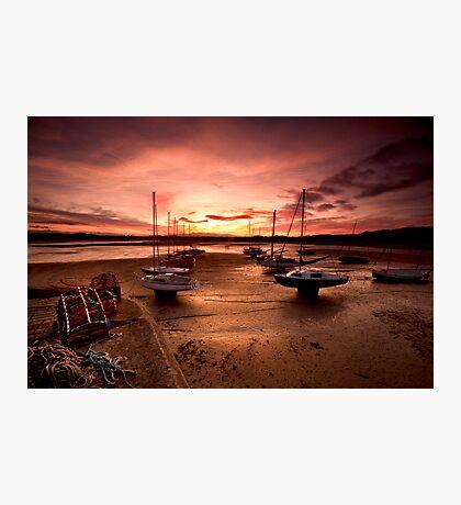 Beadnal Harbour Photographic Print