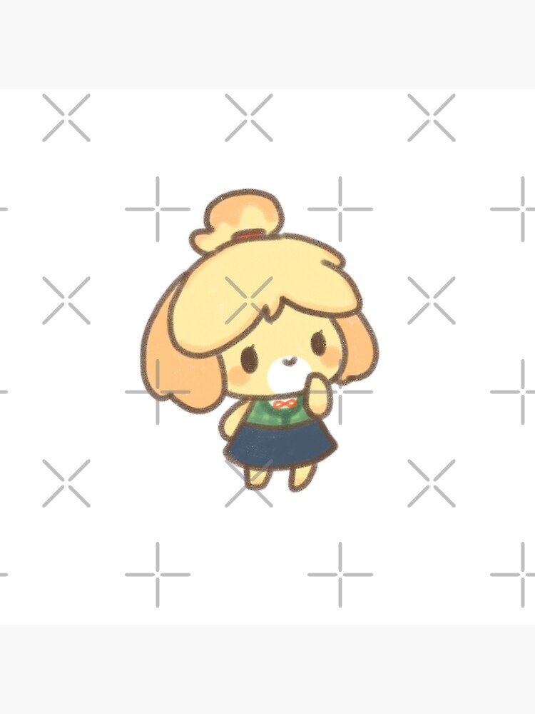 Animal Crossing Chibi Cute Isabelle Greeting Card By Zero Bae Redbubble